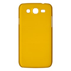 Amber Solid Color  Samsung Galaxy Mega 5 8 I9152 Hardshell Case  by SimplyColor