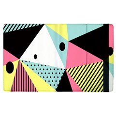 Geometric Polka Triangle Dots Line Apple Ipad Pro 9 7   Flip Case by Mariart