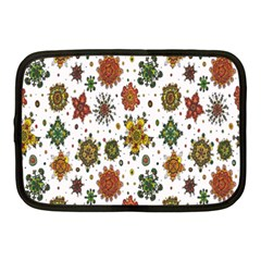 Flower Floral Sunflower Rose Pattern Base Netbook Case (medium)  by Mariart