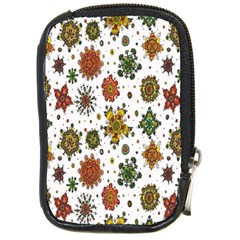 Flower Floral Sunflower Rose Pattern Base Compact Camera Cases by Mariart