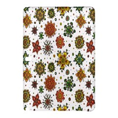 Flower Floral Sunflower Rose Pattern Base Samsung Galaxy Tab Pro 12 2 Hardshell Case by Mariart