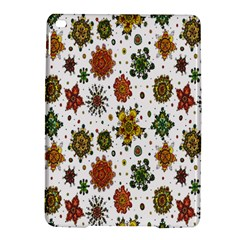 Flower Floral Sunflower Rose Pattern Base Ipad Air 2 Hardshell Cases by Mariart