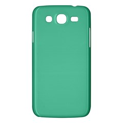 Aquamarine Solid Color  Samsung Galaxy Mega 5 8 I9152 Hardshell Case  by SimplyColor