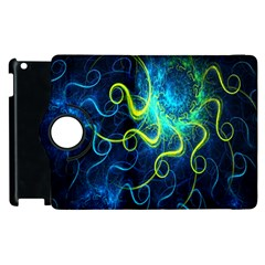 Electricsheep Mathematical Algorithm Displays Fractal Permutations Apple Ipad 2 Flip 360 Case by Mariart