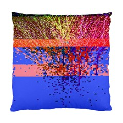 Glitchdrips Shadow Color Fire Standard Cushion Case (two Sides) by Mariart