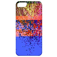 Glitchdrips Shadow Color Fire Apple Iphone 5 Classic Hardshell Case by Mariart