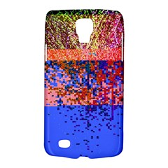 Glitchdrips Shadow Color Fire Galaxy S4 Active by Mariart