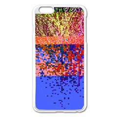 Glitchdrips Shadow Color Fire Apple Iphone 6 Plus/6s Plus Enamel White Case by Mariart