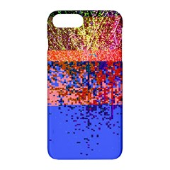 Glitchdrips Shadow Color Fire Apple Iphone 7 Plus Hardshell Case by Mariart