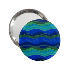 Geometric Line Wave Chevron Waves Novelty 2 25  Handbag Mirrors by Mariart