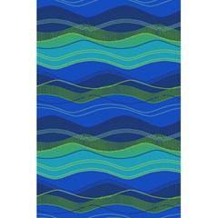 Geometric Line Wave Chevron Waves Novelty 5 5  X 8 5  Notebooks by Mariart