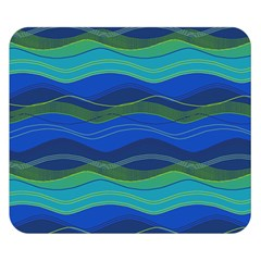 Geometric Line Wave Chevron Waves Novelty Double Sided Flano Blanket (small)  by Mariart