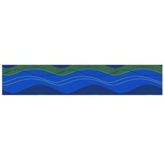 Geometric Line Wave Chevron Waves Novelty Flano Scarf (large) by Mariart