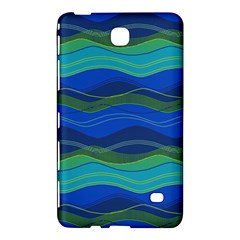 Geometric Line Wave Chevron Waves Novelty Samsung Galaxy Tab 4 (8 ) Hardshell Case  by Mariart