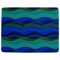 Geometric Line Wave Chevron Waves Novelty Jigsaw Puzzle Photo Stand (rectangular) by Mariart