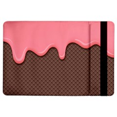 Ice Cream Pink Choholate Plaid Chevron Ipad Air 2 Flip by Mariart