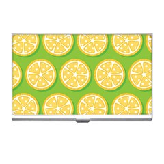 Lime Orange Yellow Green Fruit Business Card Holders by Mariart