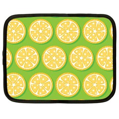 Lime Orange Yellow Green Fruit Netbook Case (large) by Mariart