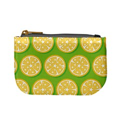 Lime Orange Yellow Green Fruit Mini Coin Purses