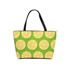 Lime Orange Yellow Green Fruit Shoulder Handbags by Mariart