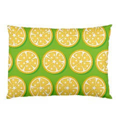 Lime Orange Yellow Green Fruit Pillow Case (two Sides) by Mariart
