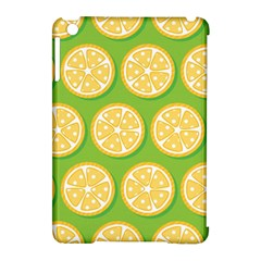 Lime Orange Yellow Green Fruit Apple Ipad Mini Hardshell Case (compatible With Smart Cover) by Mariart
