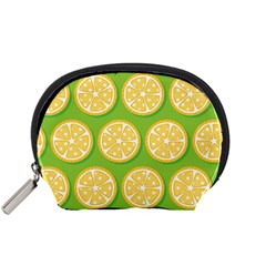 Lime Orange Yellow Green Fruit Accessory Pouches (small)  by Mariart