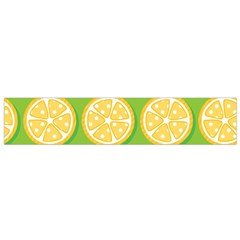 Lime Orange Yellow Green Fruit Flano Scarf (small) by Mariart