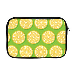 Lime Orange Yellow Green Fruit Apple Macbook Pro 17  Zipper Case