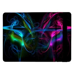 Light Waves Light Red Blue Samsung Galaxy Tab Pro 12 2  Flip Case by Mariart