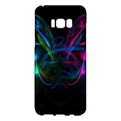 Light Waves Light Red Blue Samsung Galaxy S8 Plus Hardshell Case  by Mariart
