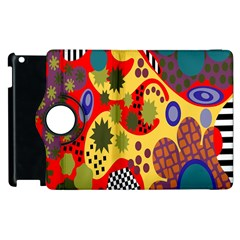 Line Star Polka Dots Plaid Circle Apple Ipad 3/4 Flip 360 Case by Mariart