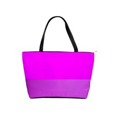 Line Pink Shoulder Handbags by Mariart
