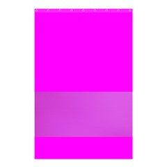 Line Pink Shower Curtain 48  X 72  (small)  by Mariart