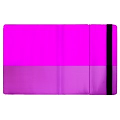 Line Pink Apple Ipad 2 Flip Case by Mariart