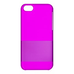 Line Pink Apple Iphone 5c Hardshell Case by Mariart