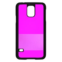 Line Pink Samsung Galaxy S5 Case (black) by Mariart