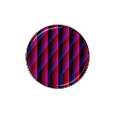 Photography Illustrations Line Wave Chevron Red Blue Vertical Light Hat Clip Ball Marker (10 Pack) by Mariart