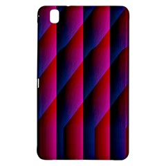 Photography Illustrations Line Wave Chevron Red Blue Vertical Light Samsung Galaxy Tab Pro 8 4 Hardshell Case by Mariart