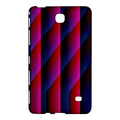 Photography Illustrations Line Wave Chevron Red Blue Vertical Light Samsung Galaxy Tab 4 (8 ) Hardshell Case  by Mariart