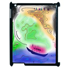 Mirror Light Apple Ipad 2 Case (black) by Mariart