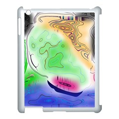 Mirror Light Apple Ipad 3/4 Case (white) by Mariart