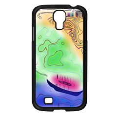 Mirror Light Samsung Galaxy S4 I9500/ I9505 Case (black) by Mariart