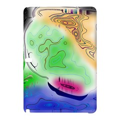 Mirror Light Samsung Galaxy Tab Pro 10 1 Hardshell Case by Mariart