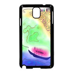 Mirror Light Samsung Galaxy Note 3 Neo Hardshell Case (black) by Mariart