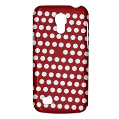 Pink White Polka Dots Galaxy S4 Mini by Mariart