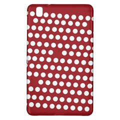 Pink White Polka Dots Samsung Galaxy Tab Pro 8 4 Hardshell Case by Mariart