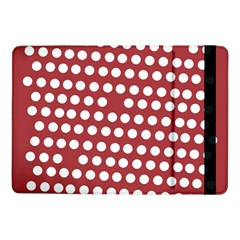Pink White Polka Dots Samsung Galaxy Tab Pro 10 1  Flip Case by Mariart