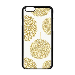 Loboloup Hydrangea Quote Floral And Botanical Flower Apple Iphone 6/6s Black Enamel Case by Mariart