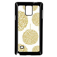 Loboloup Hydrangea Quote Floral And Botanical Flower Samsung Galaxy Note 4 Case (black) by Mariart